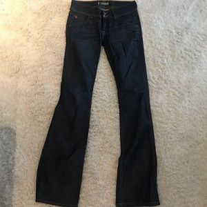 Hudson jeans size 27 bootcut small flare